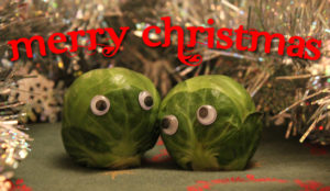 cooking Christmas sprouts
