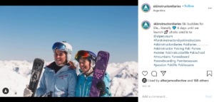 Ski Instructor Diaries Instagram page