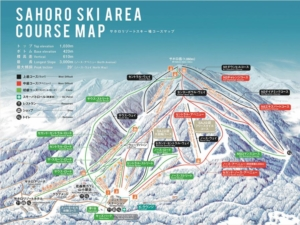 Sahoro Piste Map