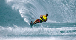 water-ski instructor in greece